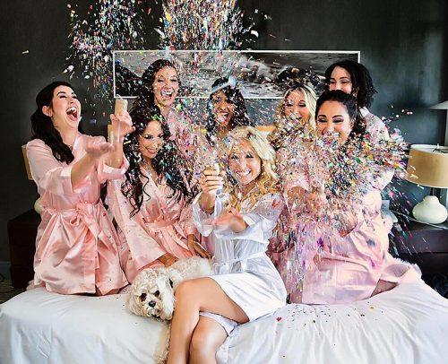 Pajama bridal party