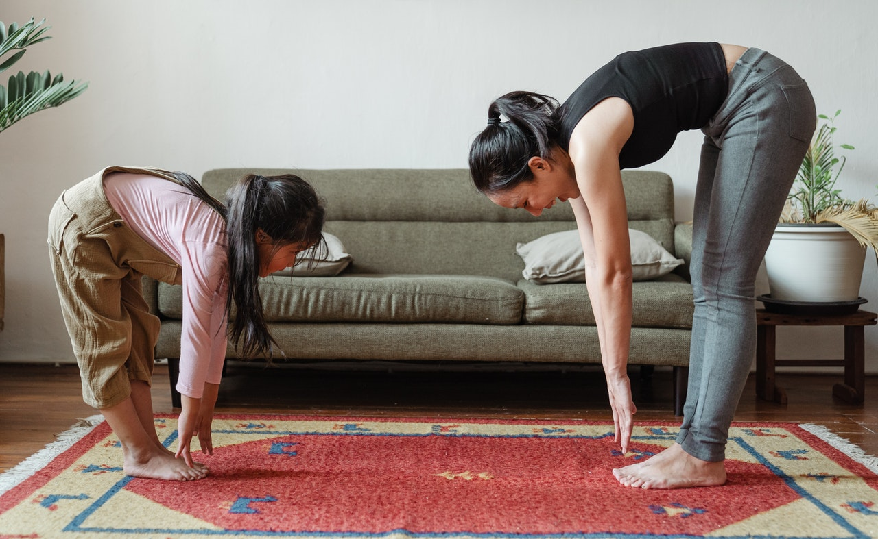 Benefits of Mother and Daughter exercise
